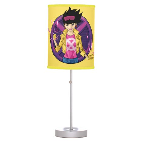 X-Men | Jubilee Character Badge Table Lamp