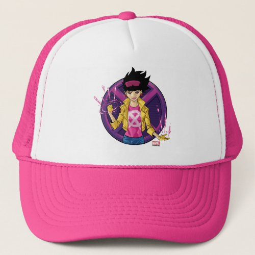 X_Men  Jubilee Character Badge Trucker Hat
