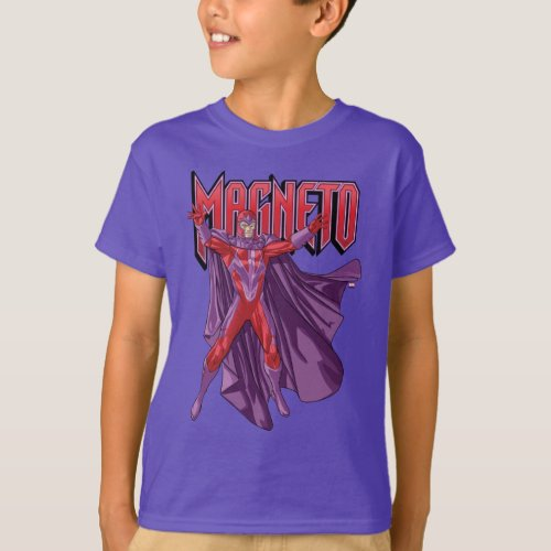X_Men  Magneto Levitating In The Air T_Shirt