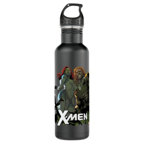 X-Men | Mystique & Sabretooth Stainless Steel Water Bottle