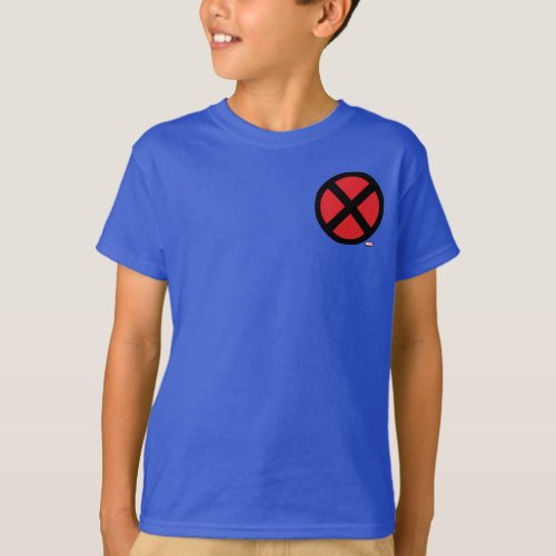 X_Men  Red and Black X Icon T_Shirt
