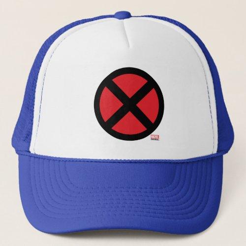 X_Men  Red and Black X Icon Trucker Hat