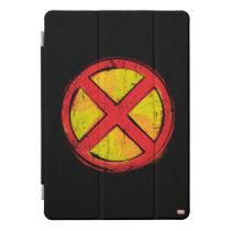 X-Men   Red and Yellow Spraypaint X Icon iPad Pro Cover