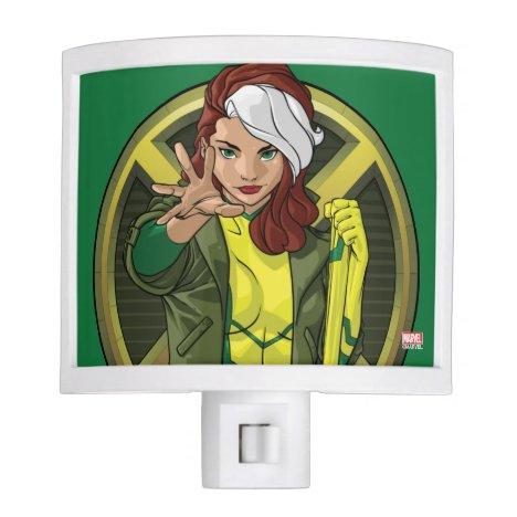 X-Men   Rogue Character Badge Night Light