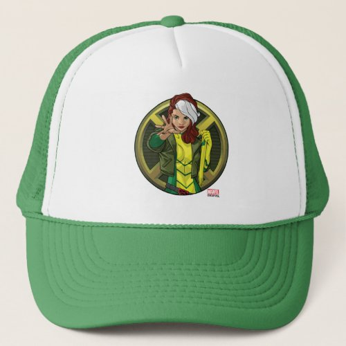 X_Men  Rogue Character Badge Trucker Hat