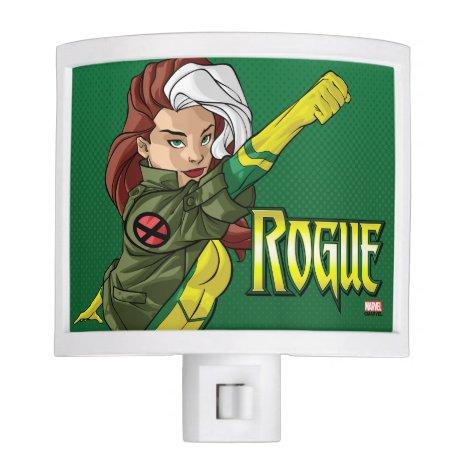 X-Men   Rogue Flying Through The Air Night Light
