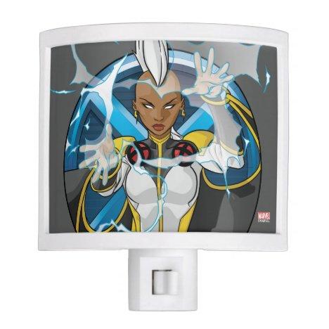 X-Men   Storm Character Badge Night Light