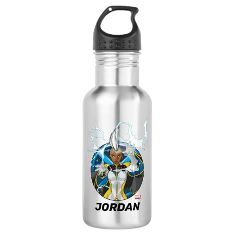 X-Men | Storm Character Badge Stainless Steel Water Bottle
