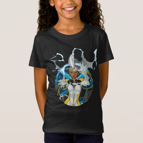 X_Men  Storm Character Badge T_Shirt