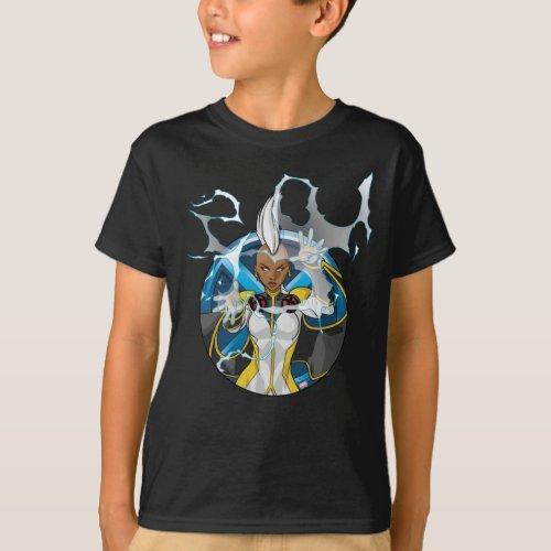 X_Men  Storm Character Badge T_Shirt