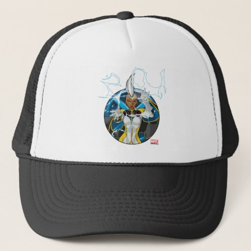 X_Men  Storm Character Badge Trucker Hat