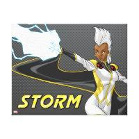 X-Men | Storm Throwing Lightning Canvas Print