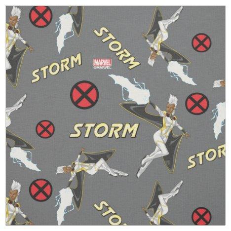 X-Men | Storm Throwing Lightning Fabric