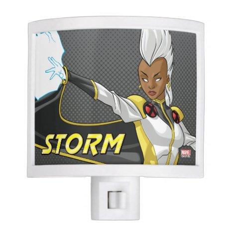 X-Men   Storm Throwing Lightning Night Light