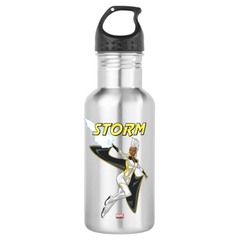 X-Men | Storm Throwing Lightning Stainless Steel Water Bottle