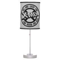 X-Men | Team Member Names Badge Table Lamp