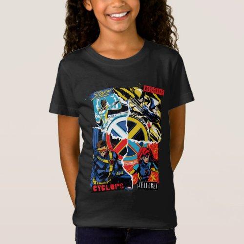 X_Men  Team Punk Logo Graphic T_Shirt
