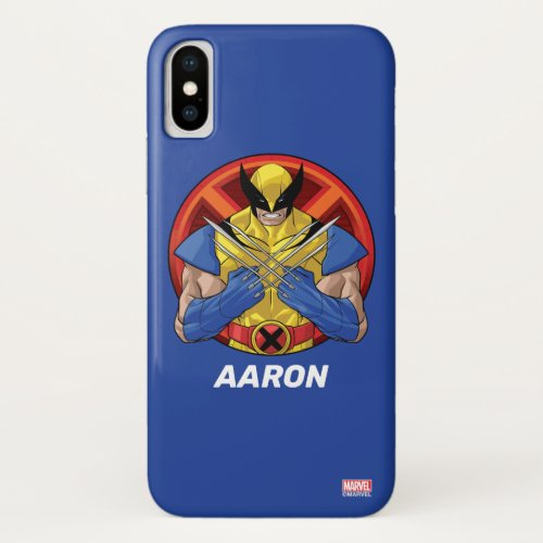 X-Men   Wolverine Character Badge Phone Case