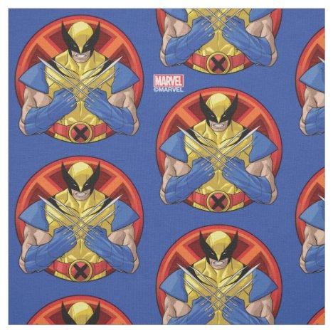 X-Men | Wolverine Character Badge Fabric
