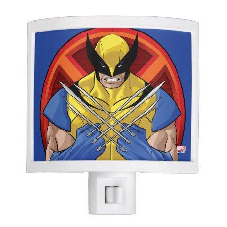 X-Men   Wolverine Character Badge Night Light
