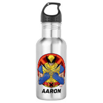 X-Men | Wolverine Character Badge Stainless Steel Water Bottle