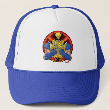 X-Men | Wolverine Character Badge Trucker Hat