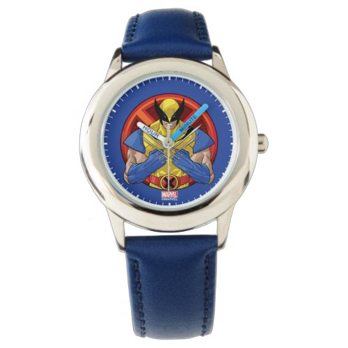 X-Men | Wolverine Character Badge Watch