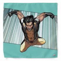 X-Men | Wolverine Leaping Down Comic Panel Bandana