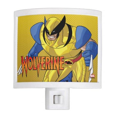 X-Men   Wolverine Running Into A Fight Night Light