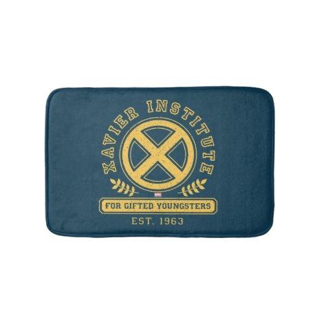 X-Men | Worn Xavier Institute Collegiate Graphic Bath Mat