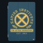 "X-Men   Worn Xavier Institute Collegiate Graphic iPad Pro Cover<br><div class=""desc"">Retro collegiate style graphic for the Xavier Institute For Gifted Younsters,  EST. 1963.</div>"