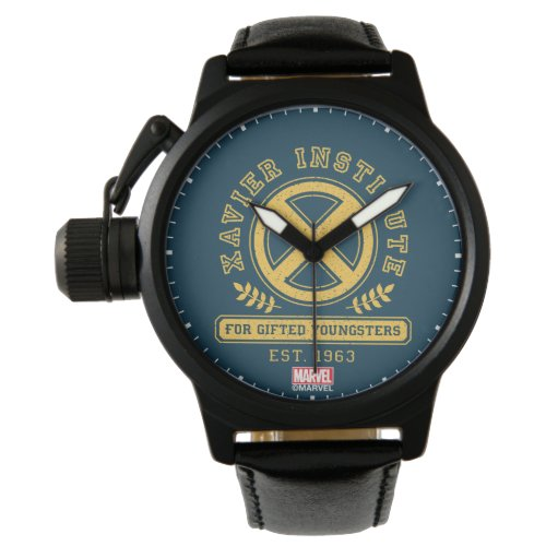 X-Men | Worn Xavier Institute Collegiate Graphic Watch
