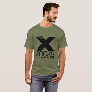 X Men's Dark Color Basic T-Shirt