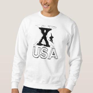 X-Panadero del barril, Washington, los E.E.U.U. Sudadera Con Capucha