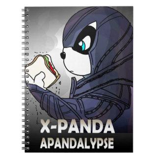 X-panda/Apandalypse Libreta
