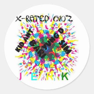 """X-Rated 610""""z Sticker"""