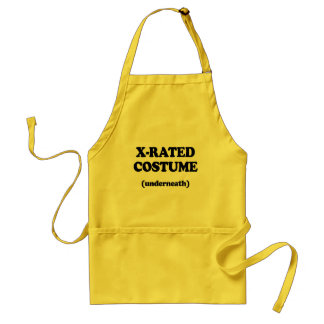 X-RATED COSTUME APRONS