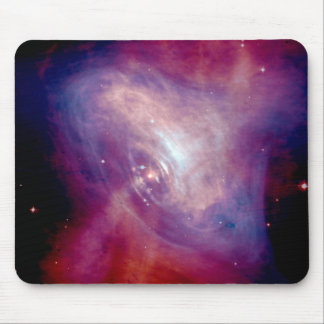 X-Ray and Optical Images of the Crab Nebula Mouse Pad