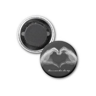 X-Ray Art 1 Inch Round Magnet