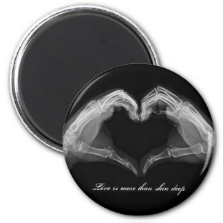 X-Ray Art 2 Inch Round Magnet