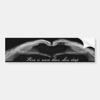 X-Ray Art Bumper Sticker