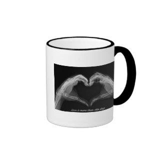 X-Ray Art Ringer Coffee Mug