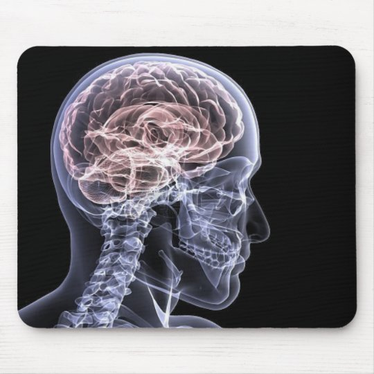 X-Ray Brain Mouse Pad