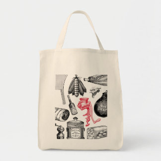 X-Ray Butcher Shop Organic Tote