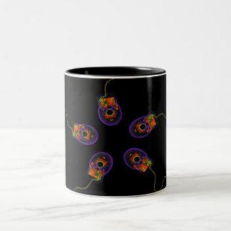 X-Ray Computer Mice Original Two-Tone Coffee Mug
