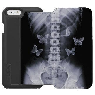 X-Ray Conceptual Butterflies iPhone 6 Wallet Case Incipio Watson™ iPhone 6 Wallet Case