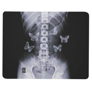 X-Ray Conceptual Butterflies Pocket Journal