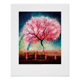 X-ray Cover art – Renal Cherry Tree by L. Rainey Poster