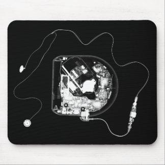 X-RAY DISCMAN - BLACK & WHITE MOUSE PAD
