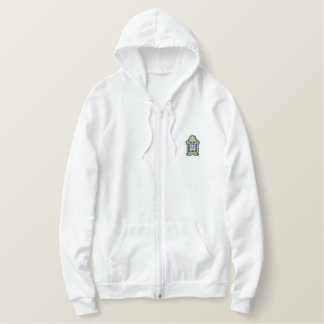 X-ray Embroidered Hoodie